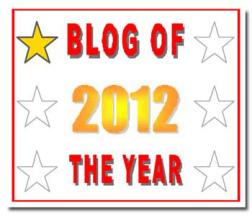 Blog of the Year Award 1 star jpeg