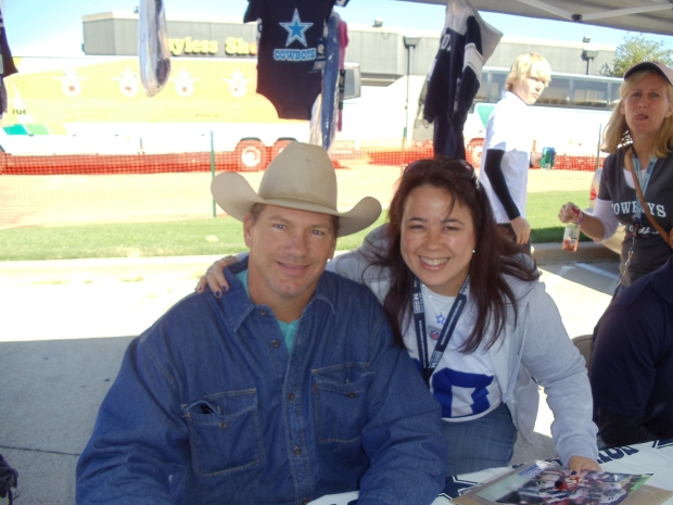 Me with Jay Novacek