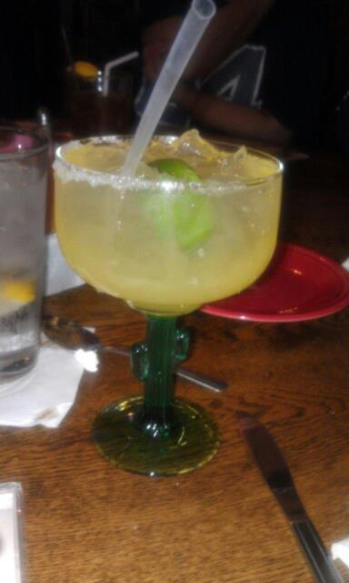 Margarita courtesy of Carlos and Mickeys in El Paso