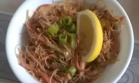 Pancit made by yours truly!