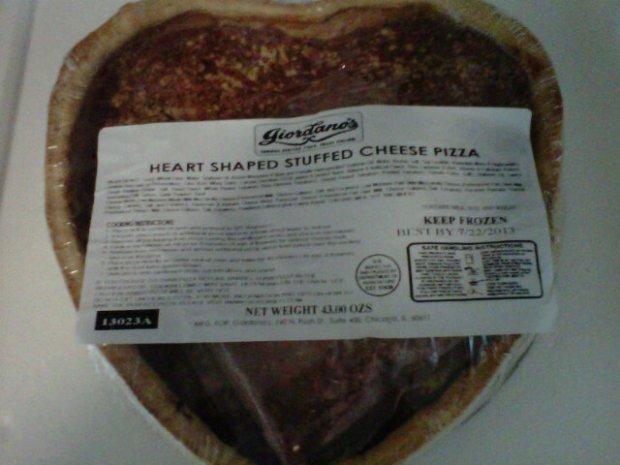 Giordanos Pizza Heart