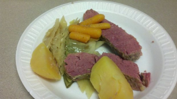Corned beef n cabbage