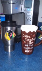 My two favorite Coffee mugs