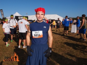 Hubby At Tough Mudder