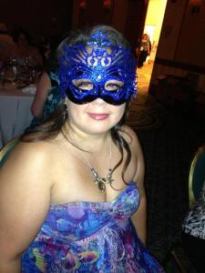 Me, at the Elemental Masquerade Ball