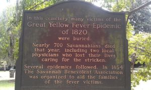 Yellow Fever's impact on Savannah