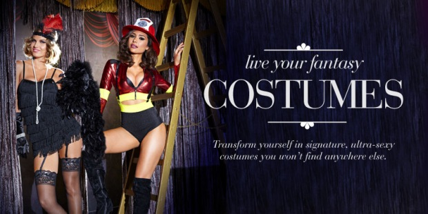 Sexy Fredericks of Hollywood Costumes