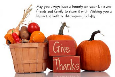 I'm thankful for all of you and your wonderful support!