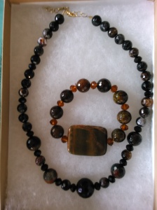 Fire Agate and Jasper