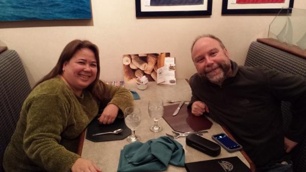 Meeting my friend, author Mark Bialczak